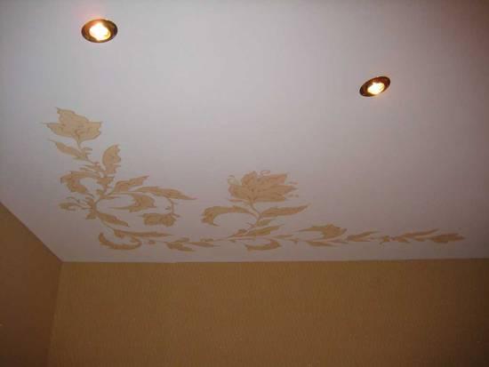 матовые потолки натяжные