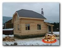 Строим дома из бруса быстро и недорого